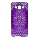 India Ornaments Mandala Pillar Blue Violet Samsung Galaxy A5 Hardshell Case