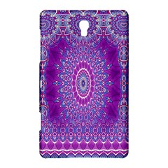 India Ornaments Mandala Pillar Blue Violet Samsung Galaxy Tab S (8 4 ) Hardshell Case