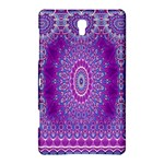 India Ornaments Mandala Pillar Blue Violet Samsung Galaxy Tab S (8.4 ) Hardshell Case