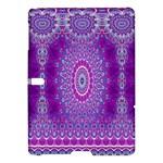 India Ornaments Mandala Pillar Blue Violet Samsung Galaxy Tab S (10.5 ) Hardshell Case