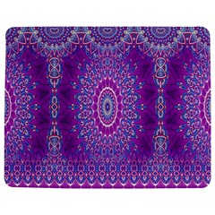 India Ornaments Mandala Pillar Blue Violet Jigsaw Puzzle Photo Stand (rectangular) by EDDArt