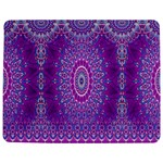 India Ornaments Mandala Pillar Blue Violet Jigsaw Puzzle Photo Stand (Rectangular) Front