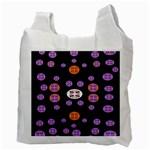 Alphabet Shirtjhjervbret (2)fvgbgnhlluuii Recycle Bag (Two Side)  Back