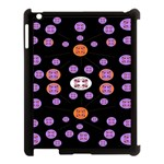 Alphabet Shirtjhjervbret (2)fvgbgnhlluuii Apple iPad 3/4 Case (Black) Front