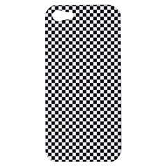 Sports Racing Chess Squares Black White Apple Iphone 5 Hardshell Case