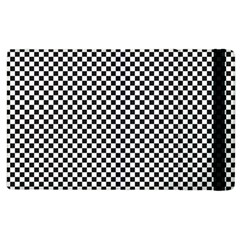 Sports Racing Chess Squares Black White Apple Ipad 3/4 Flip Case by EDDArt