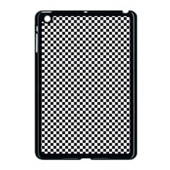 Sports Racing Chess Squares Black White Apple Ipad Mini Case (black)