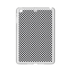 Sports Racing Chess Squares Black White Ipad Mini 2 Enamel Coated Cases