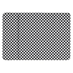 Sports Racing Chess Squares Black White Samsung Galaxy Tab 8 9  P7300 Flip Case