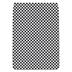 Sports Racing Chess Squares Black White Flap Covers (s)  by EDDArt