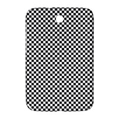 Sports Racing Chess Squares Black White Samsung Galaxy Note 8 0 N5100 Hardshell Case  by EDDArt