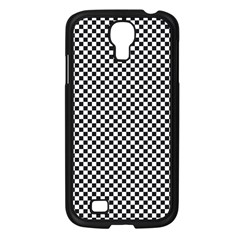Sports Racing Chess Squares Black White Samsung Galaxy S4 I9500/ I9505 Case (black) by EDDArt