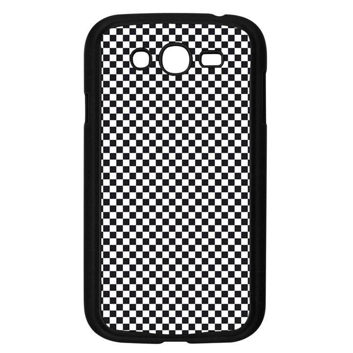 Sports Racing Chess Squares Black White Samsung Galaxy Grand DUOS I9082 Case (Black)