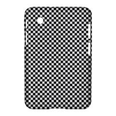 Sports Racing Chess Squares Black White Samsung Galaxy Tab 2 (7 ) P3100 Hardshell Case  by EDDArt