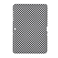 Sports Racing Chess Squares Black White Samsung Galaxy Tab 2 (10 1 ) P5100 Hardshell Case  by EDDArt