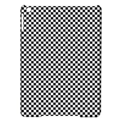 Sports Racing Chess Squares Black White Ipad Air Hardshell Cases by EDDArt