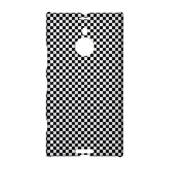 Sports Racing Chess Squares Black White Nokia Lumia 1520 by EDDArt