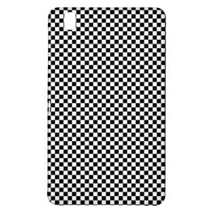 Sports Racing Chess Squares Black White Samsung Galaxy Tab Pro 8 4 Hardshell Case by EDDArt