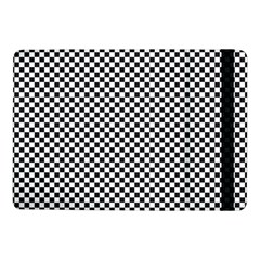 Sports Racing Chess Squares Black White Samsung Galaxy Tab Pro 10 1  Flip Case