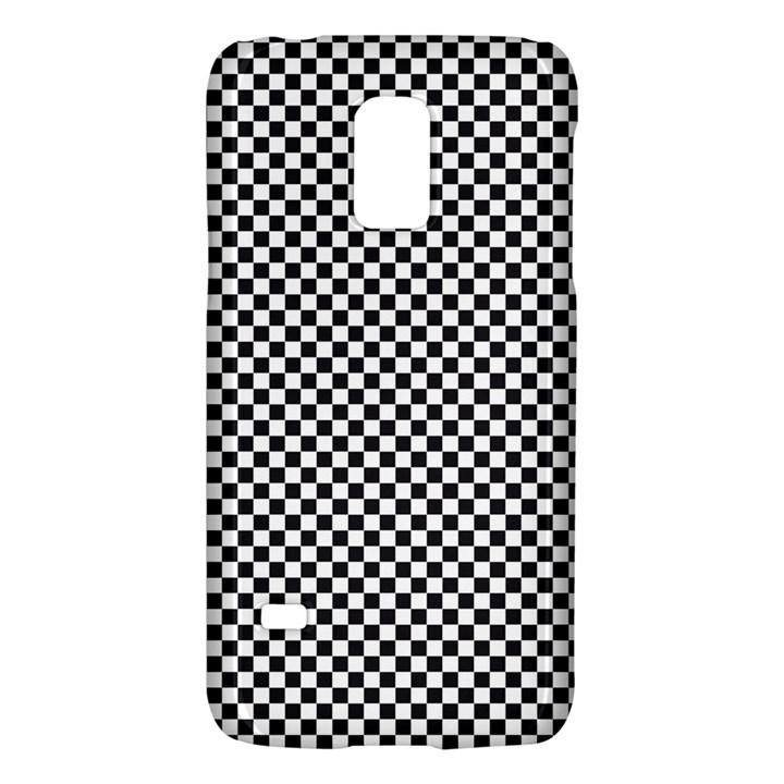 Sports Racing Chess Squares Black White Galaxy S5 Mini