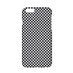 Sports Racing Chess Squares Black White Apple Iphone 6/6s Hardshell Case by EDDArt