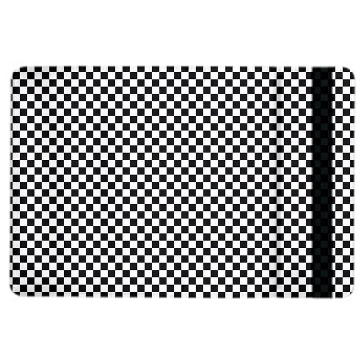 Sports Racing Chess Squares Black White iPad Air 2 Flip