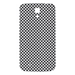 Sports Racing Chess Squares Black White Samsung Galaxy Mega I9200 Hardshell Back Case Front