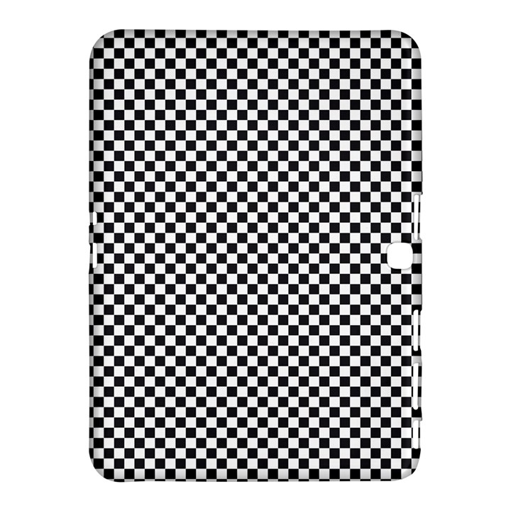 Sports Racing Chess Squares Black White Samsung Galaxy Tab 4 (10.1 ) Hardshell Case