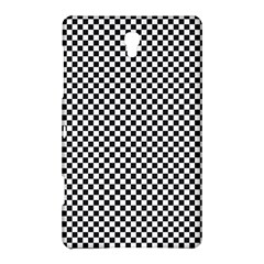 Sports Racing Chess Squares Black White Samsung Galaxy Tab S (8 4 ) Hardshell Case  by EDDArt
