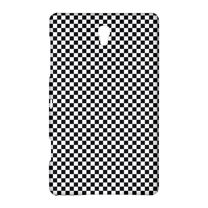 Sports Racing Chess Squares Black White Samsung Galaxy Tab S (8.4 ) Hardshell Case