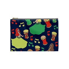 Belly Dance Hafla Doumbek  Cosmetic Bag (medium)