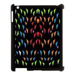 ;; Apple iPad 3/4 Case (Black) Front