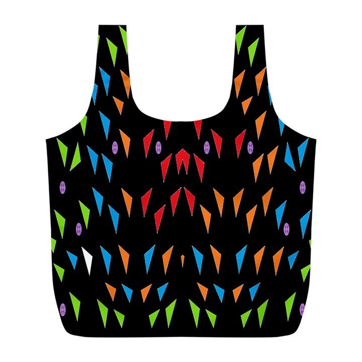 ;; Full Print Recycle Bags (L)