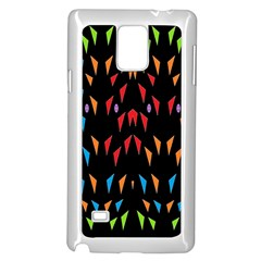 ;; Samsung Galaxy Note 4 Case (white) by MRTACPANS