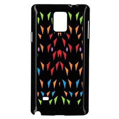 ;; Samsung Galaxy Note 4 Case (black) by MRTACPANS