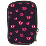 Pattern Of Vampire Mouths And Fangs Compact Camera Cases Front