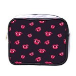 Pattern Of Vampire Mouths And Fangs Mini Toiletries Bags