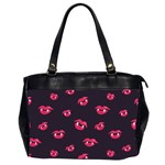 Pattern Of Vampire Mouths And Fangs Office Handbags (2 Sides)