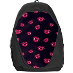 Pattern Of Vampire Mouths And Fangs Backpack Bag