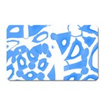 Blue summer design Magnet (Rectangular)