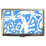 Blue summer design Cigarette Money Cases