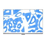 Blue summer design Business Card Holders