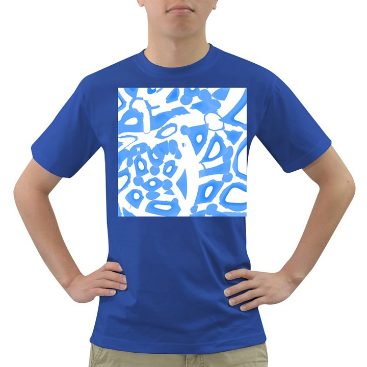 Blue summer design Dark T-Shirt