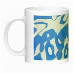Blue summer design Night Luminous Mugs