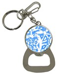 Blue summer design Bottle Opener Key Chains