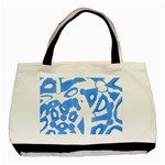 Blue summer design Basic Tote Bag