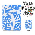 Blue summer design Multi-purpose Cards (Rectangle)