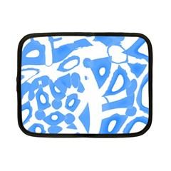 Blue summer design Netbook Case (Small)
