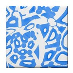 Blue summer design Face Towel