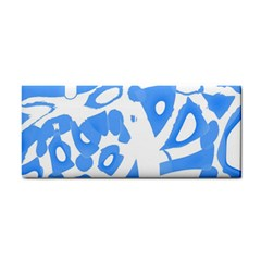 Blue Summer Design Hand Towel